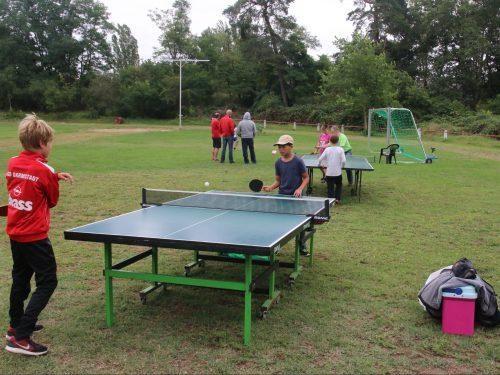 Tischtennis am Tag der TGB